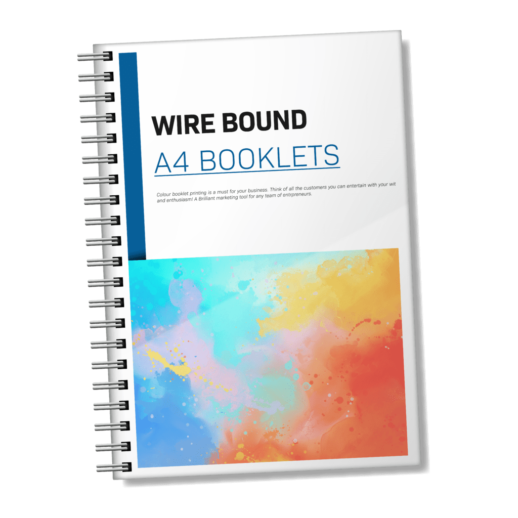 A4 Wire Bound Booklets