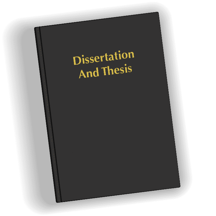 Dissertation & Thesis Book Printing & Binding