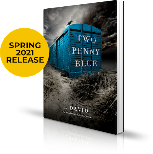Two Penny Blue Book by R David