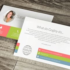Business Card Printing - Double Sided For The Price of Single