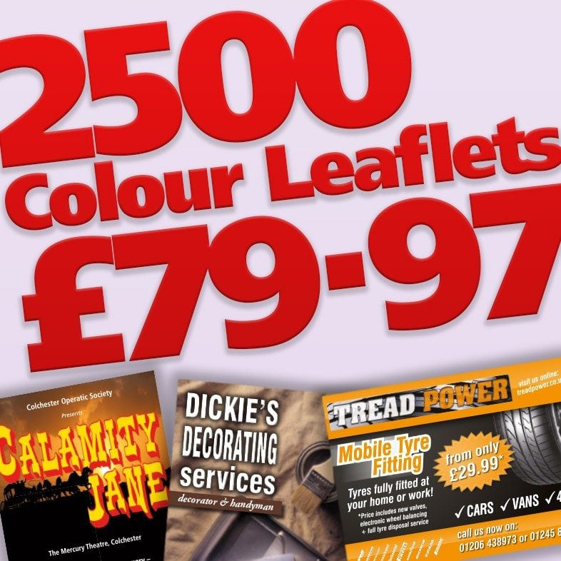 Leaflet Printing Offer Now On