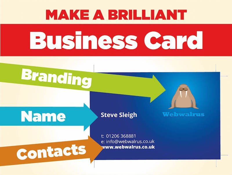 How to make a brilliant business card