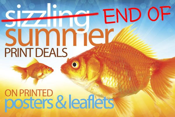 End of summer print deals at print colchester